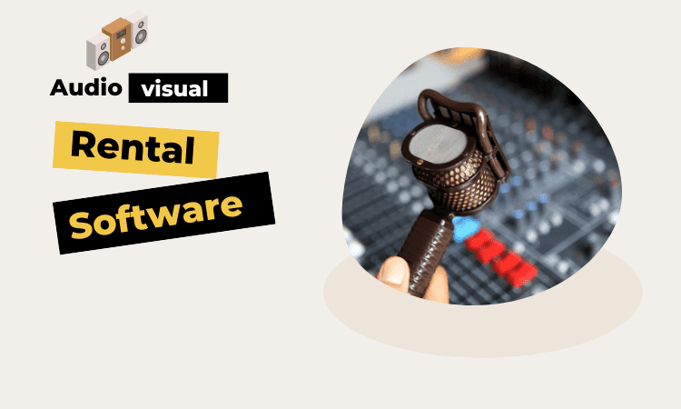 Audio Visual Rental Business Software