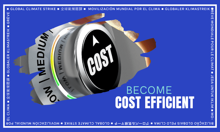 Become Cost Efficient