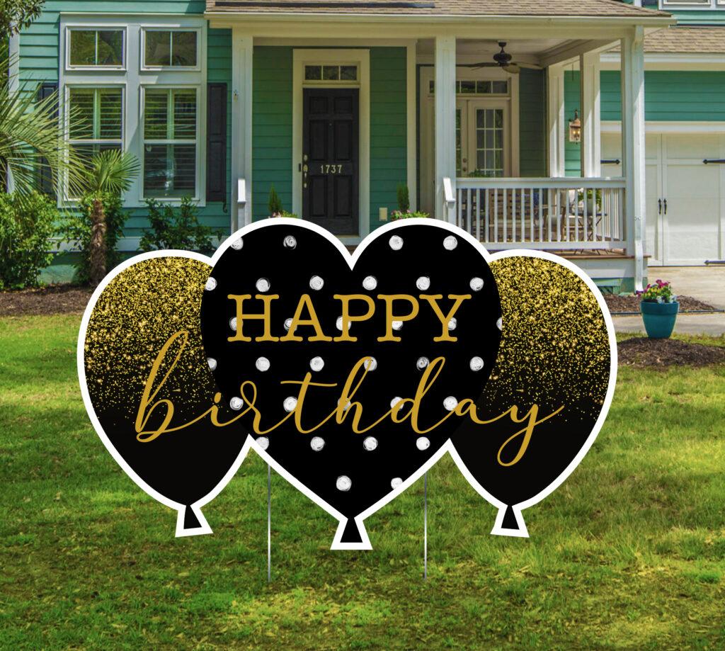 Birthday Yard Signs