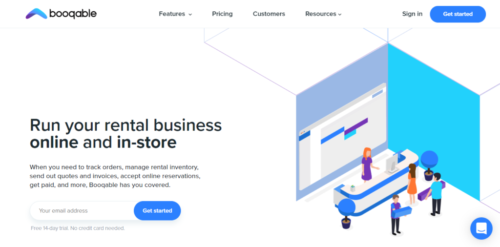 Booqable- Rental Management Software