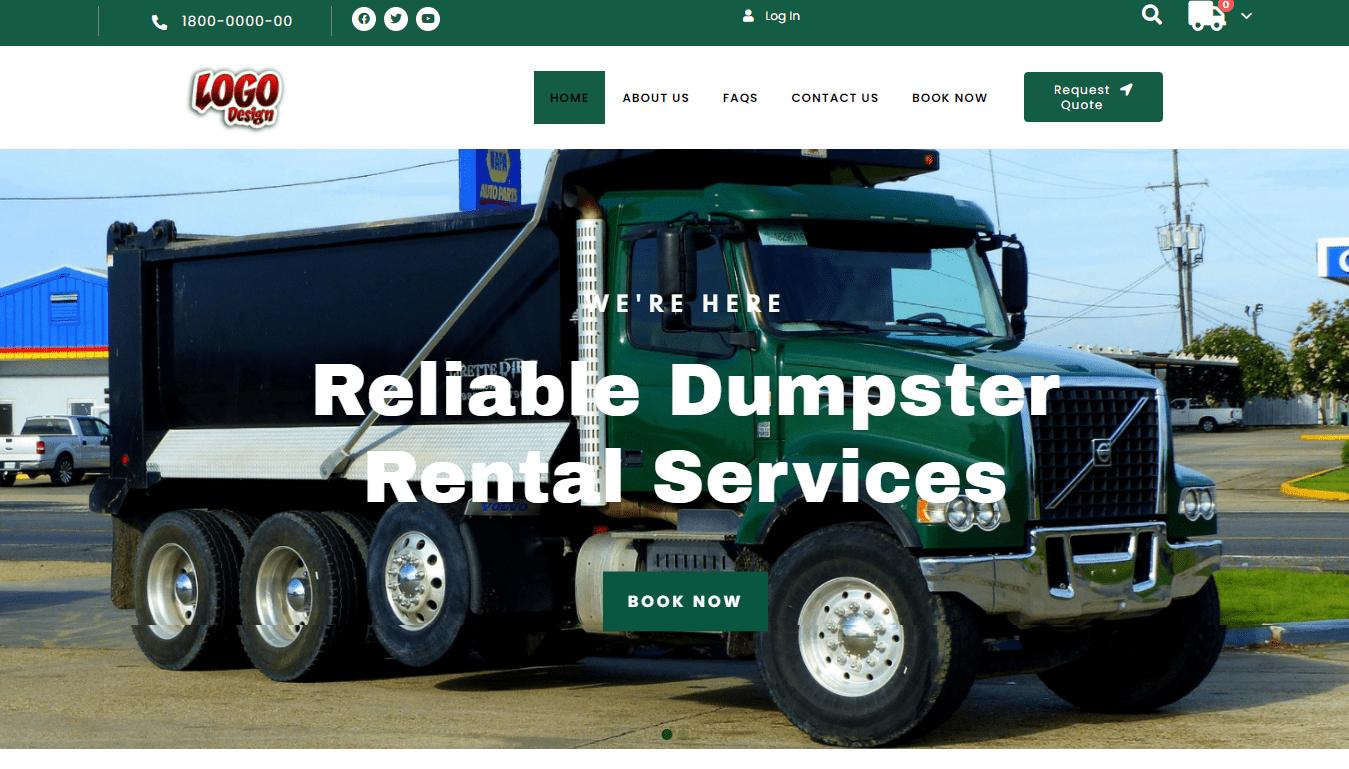 Dumpster Rental Template