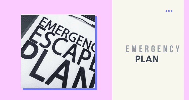 Formulate a Plan for Emergency