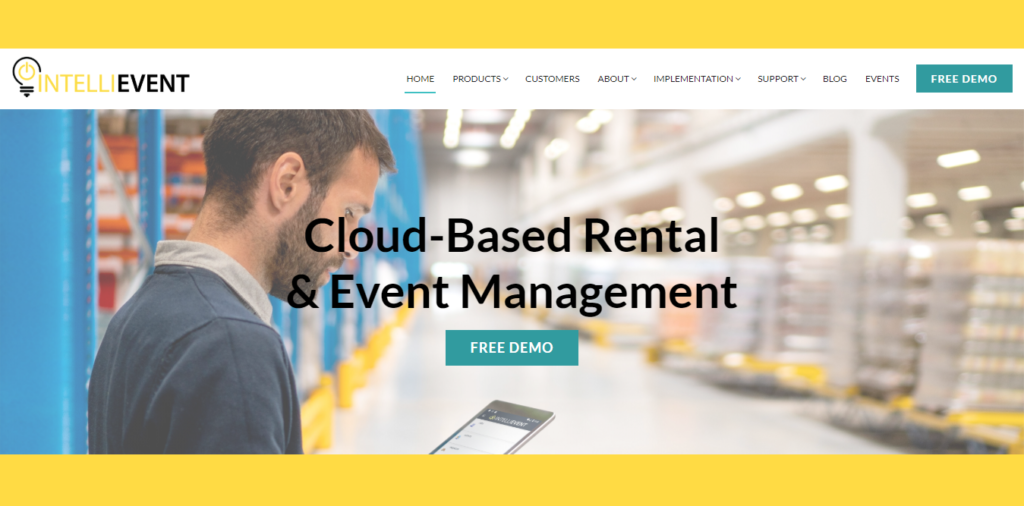 Intellievent Lighting Cloud Based Rental Software
