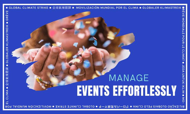 Manage Event Effortlessly