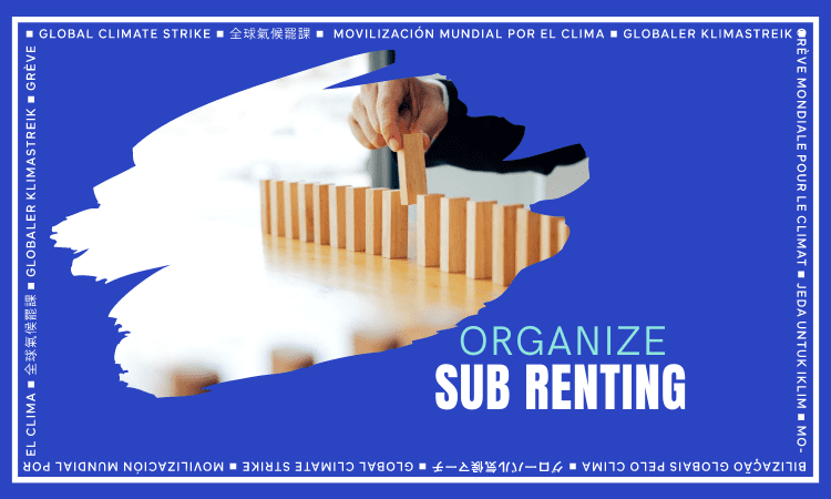 Organize Subrenting