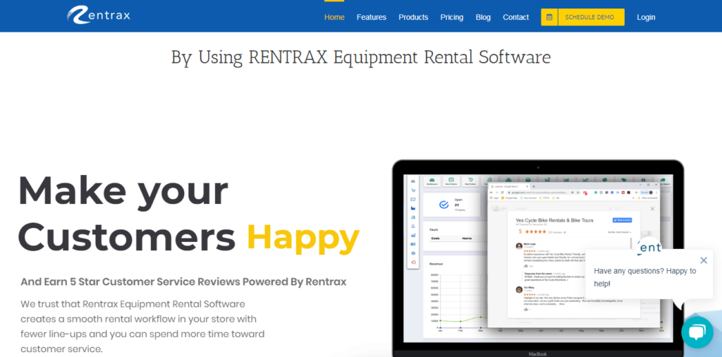 Rentrax - Sports Rental Software