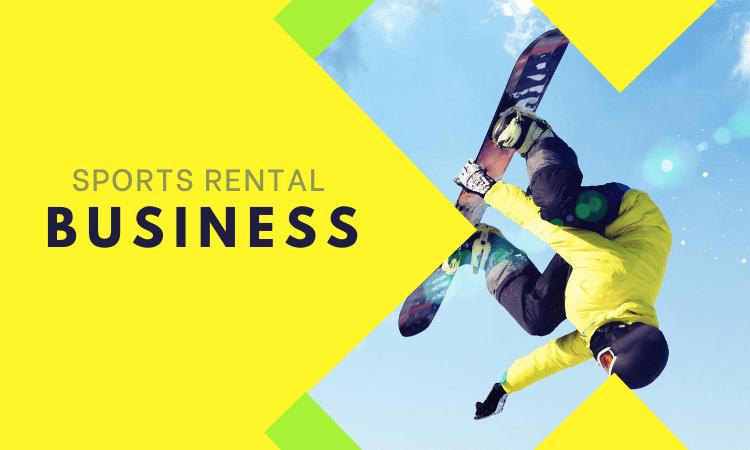 Sports Rental Business