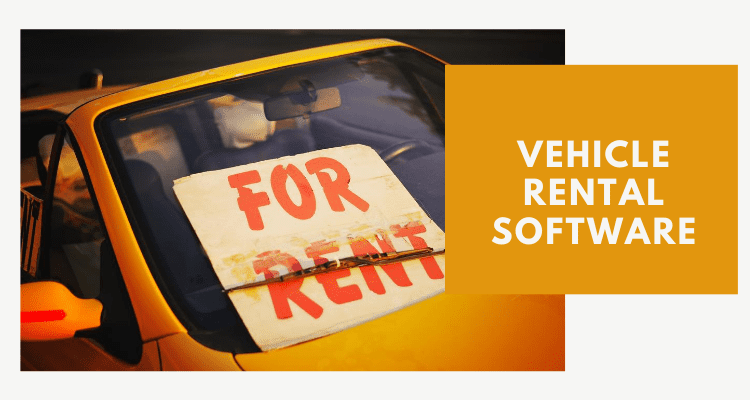 Vehicle Rental Software