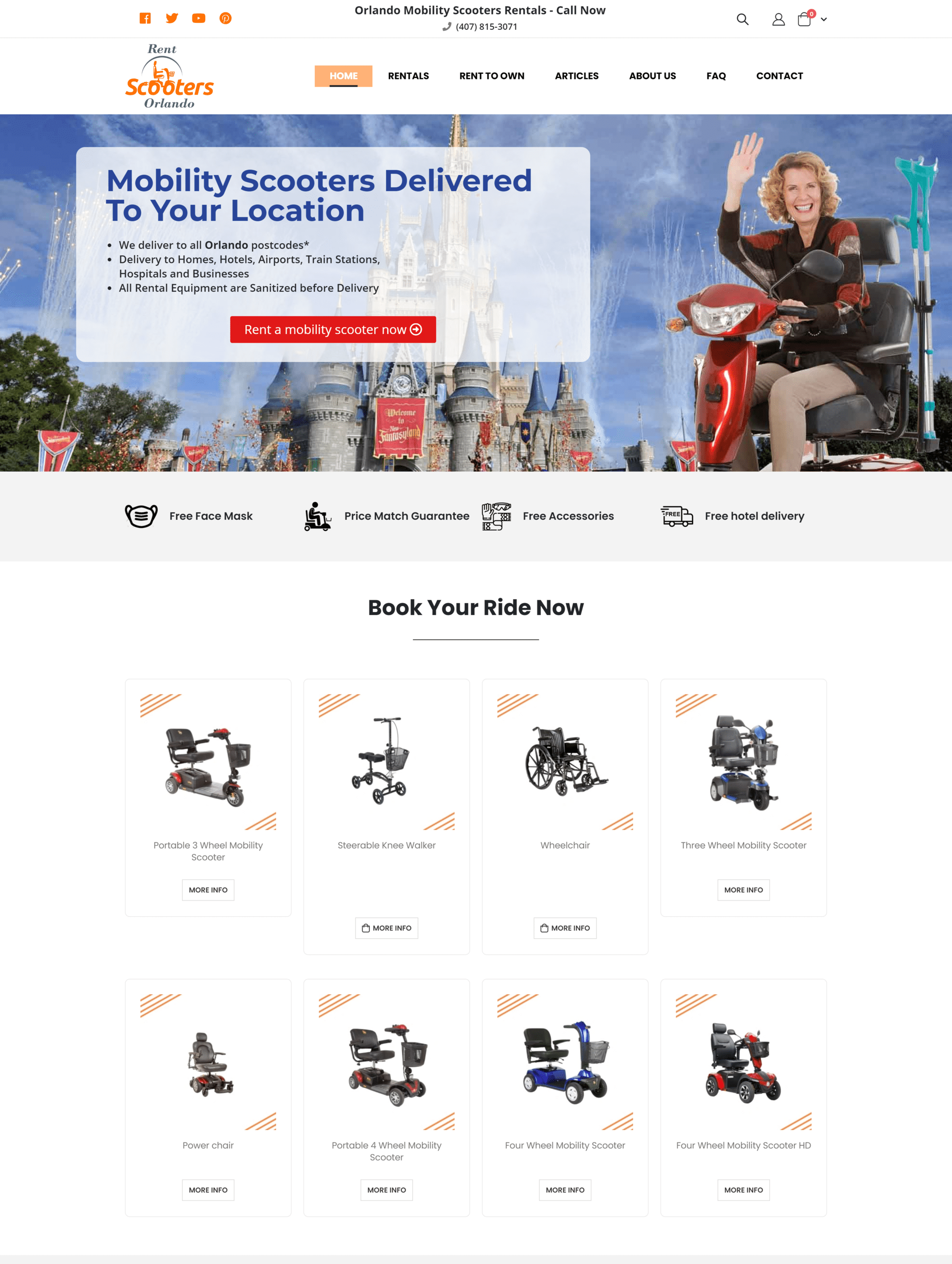 Rent Orlando Scooters